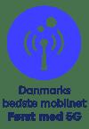 Netværkssymbol - Først med 5G