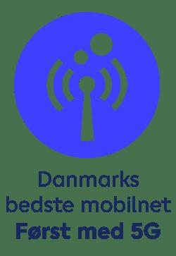 Danmarks bedste mobilnet med 5G
