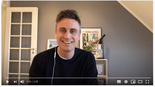 Video: Casper siger hej til Relatels kunder